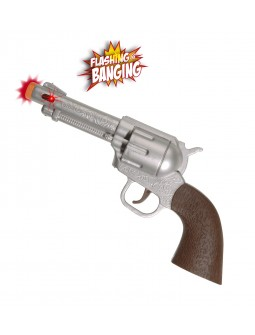 Pistola con luz y sonido