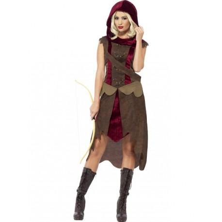 Vestido de Cazadora Medieval