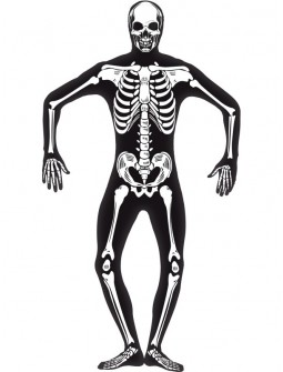 Segunda Piel Esqueleto Fluorescente Unisex