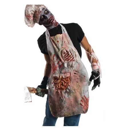 Delantal Zombie Unisex