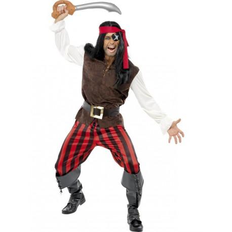 Disfraz de Pirata para hombre talla grande