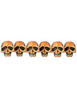Girnalda de Calaveras para Halloween
