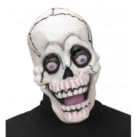 Mascara de Calavera con Ojos Saltones