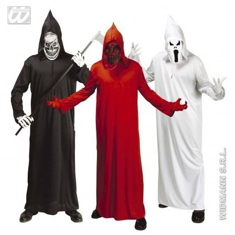 Disfraz de La Muerte en Colores para Adulto