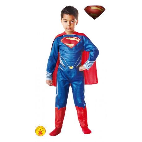 Disfraz de Superman Hombre de acero para niño