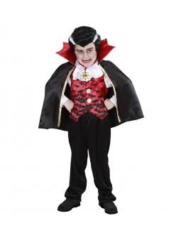 Disfraz de Vampiro con chaleco para niño