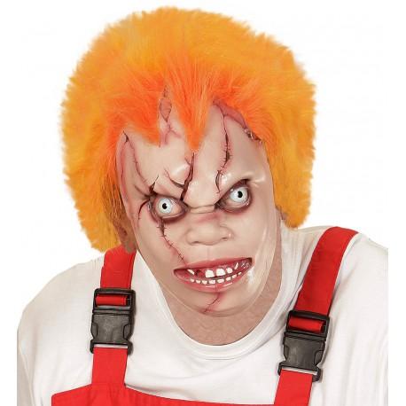 Mascara de Chucky, el muñeco diabolico