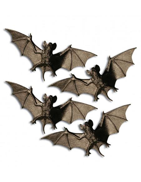 Cuatro murciélagos negros