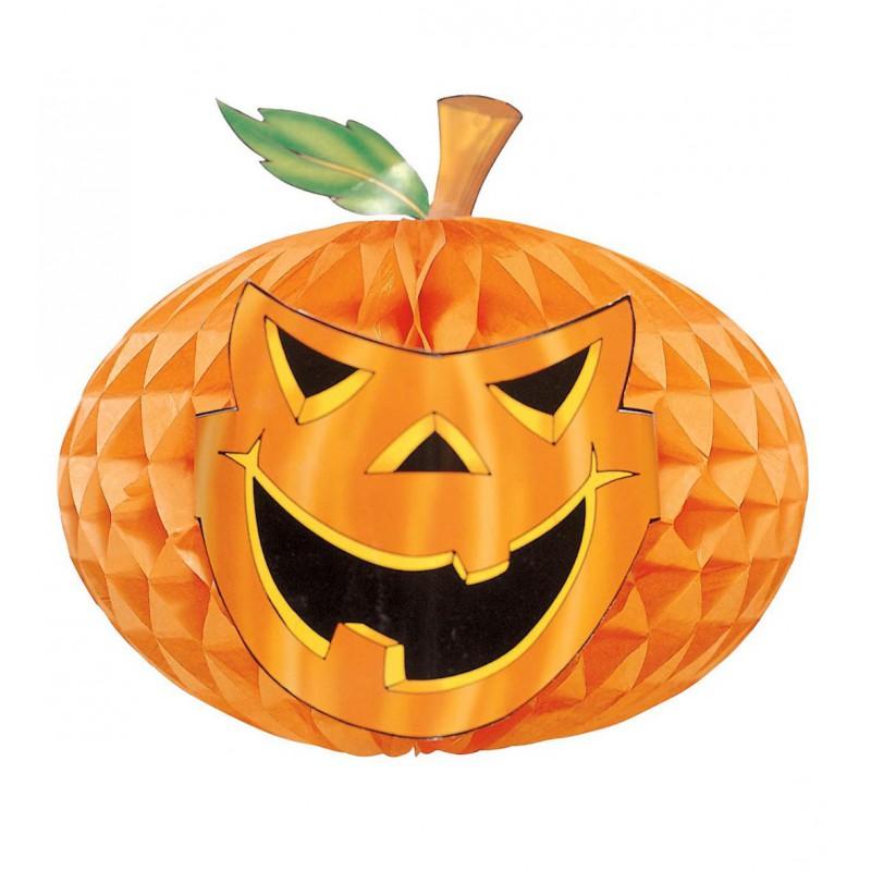 Calabaza de papel para decoraci n de halloween comprar - Decoracion calabazas para halloween ...