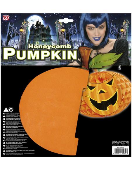 Calabaza papel decoración Halloween