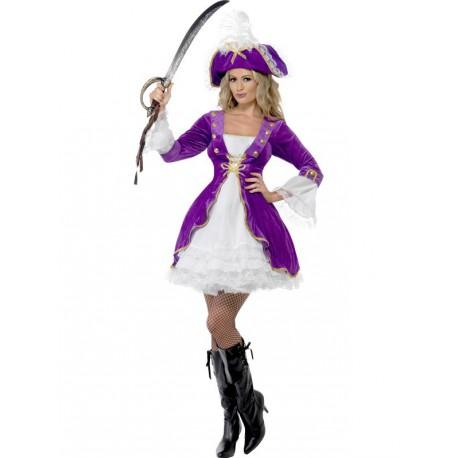 Disfraz de Pirata Morado