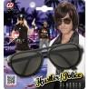 Gafas Negras con cristal Oscuro