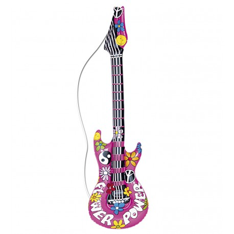Guitarra Hinchable para Hippies