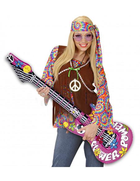 Guitarra Hinchable para Hippies