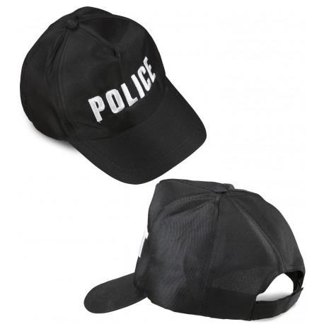 Gorra Visera con bordado de Policia