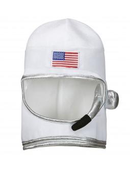Gorro de Astronauta Blanco con Micro
