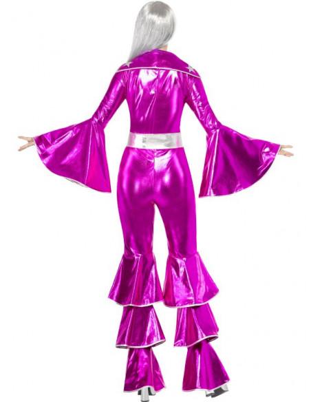 Disfraz Disco en Fucsia para mujer