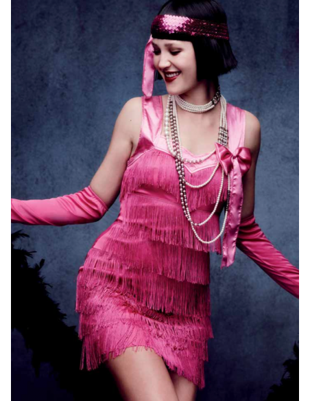 Disfraz de Charleston años 20