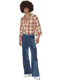 Pantalon Bombacho en vaquero