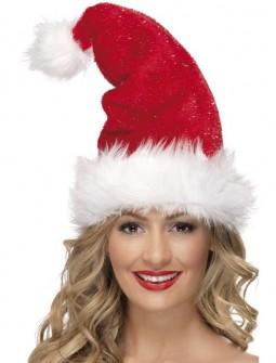Gorro de Papa Noel lujo