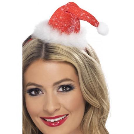 Mini sombrero Papa Noel