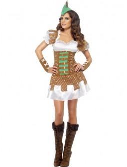 Disfraz de mujer Robin Hood Sexy