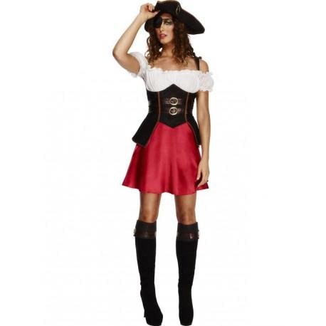 lo último obtener nuevos venta de liquidación Disfraz de Mujer Pirata con sombrero - Tienda de disfraces