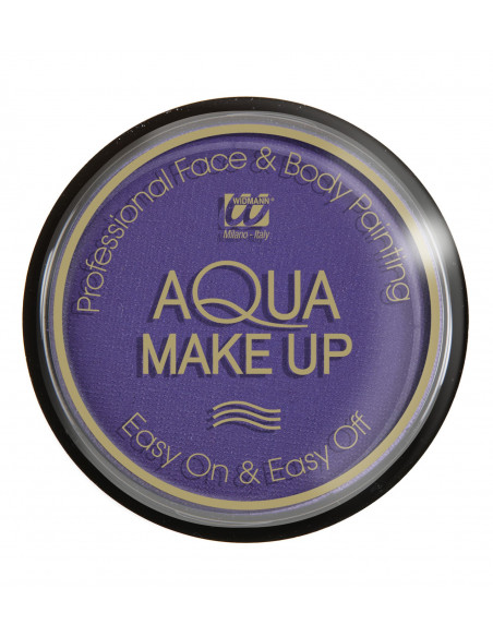 Maquillaje Morado al agua - Profesional -