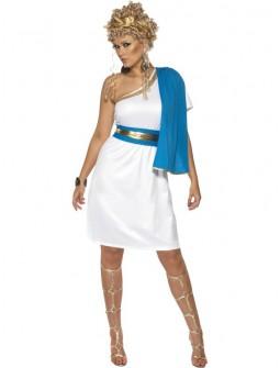 Disfraz de Diosa Romana con toga