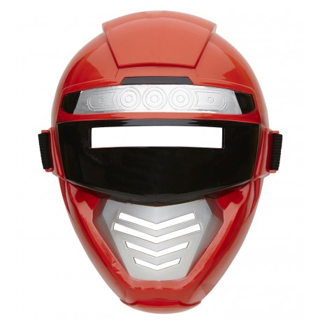 Mascara Power Rangers Rojo