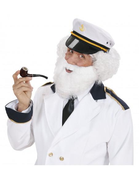 Barba Blanca Rizada