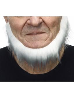 Barba blanca lujo sin bigote