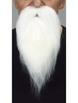 Barba perilla en Blanco