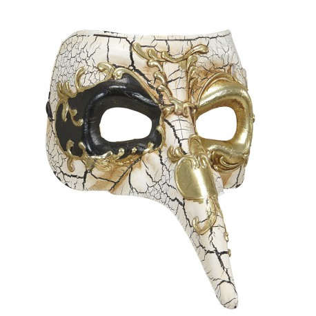 Mascara Veneciana Decorada Lujo