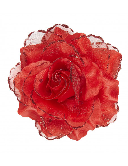 Flores de Tela Rojas