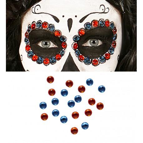 Gemas para maquillaje Ambar y Azul