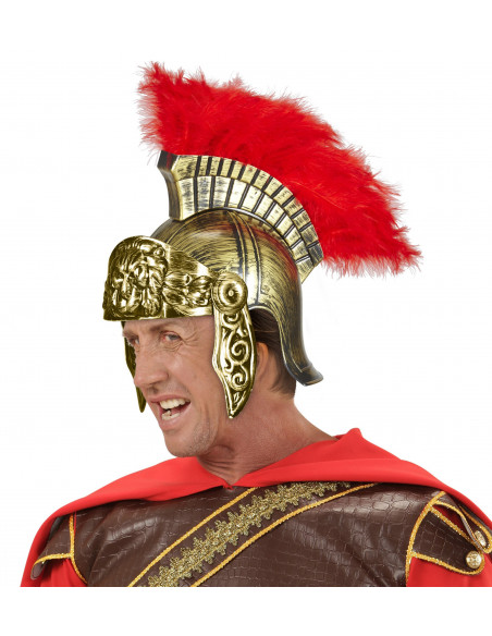 Casco Romano Oro Envejecido
