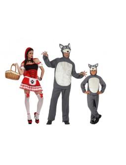 Familia de Caperucita y el Lobo