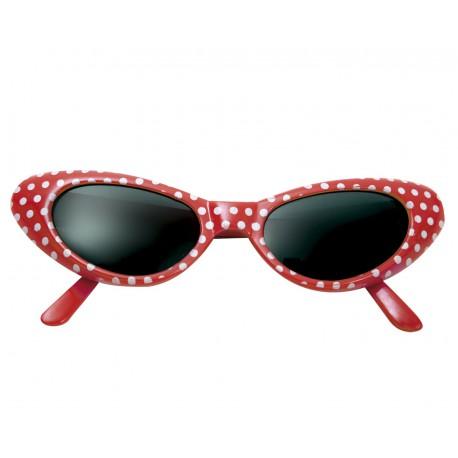 Gafas Rojas de Lunares