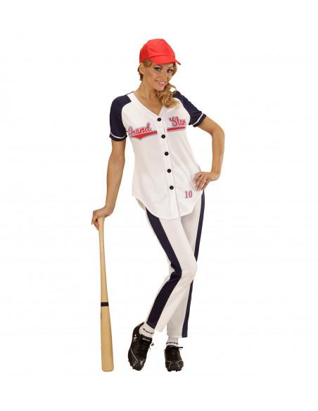 Disfraz de Jugadora de Beisbol