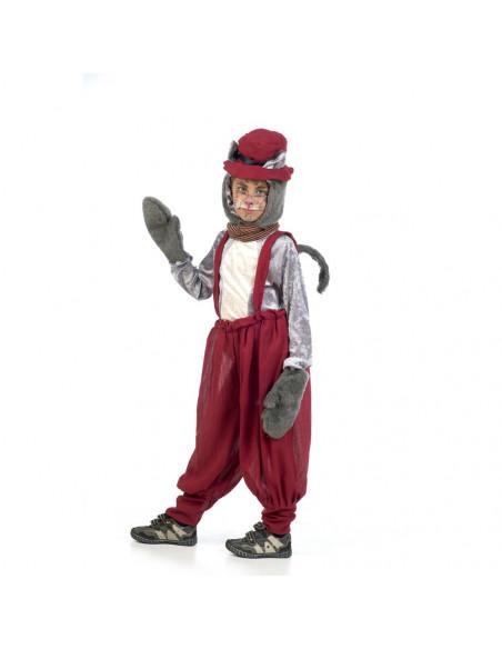 Disfraz de Gato Callejero Byron Infantil