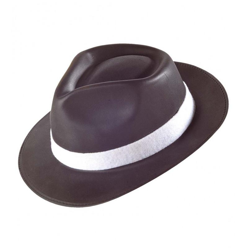 Sombrero de Gangster Negro Goma EVA  45efb7a24d6