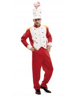 Disfraz de Soldado de Plomo Rojo para Hombre