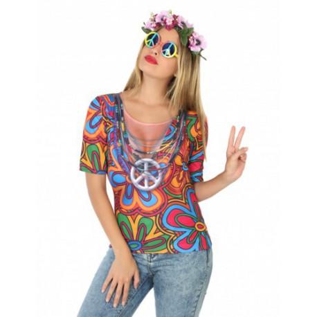 Camiseta de Hippie para Mujer