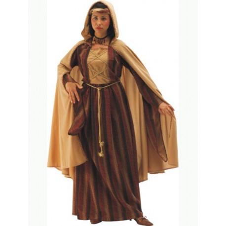 Disfraz Dama Medieval con Capa