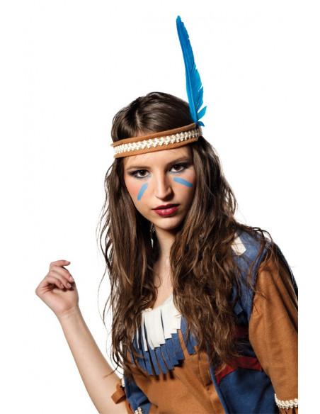 Disfraz de Inda Apache con chaleco