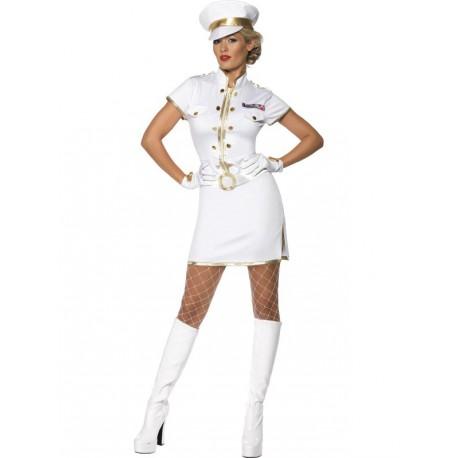 Disfraz de Capitána Marine Sexy para mujer