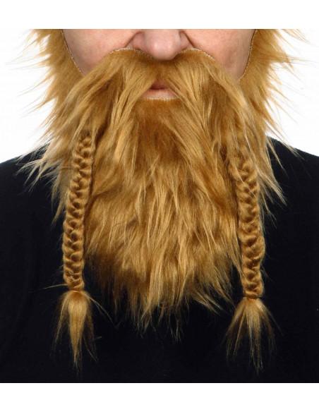 Barba de Vikingo con Trenzas