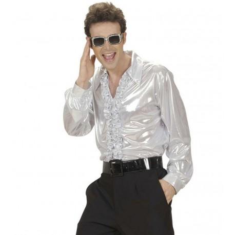 Camisa Disco Plateada