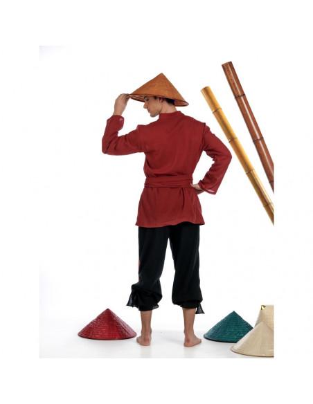 Disfraz de Chino Arrocero para Hombre